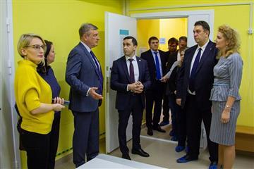 Представители Родительского совета оценили завершившуюся реконструкцию детской поликлиники на проспекте Строителей