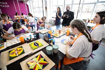 """Благодаря нацпроекту """"Образование"""" оренбургские школьники получили возможность стать востребованными профессионалами в будущем"""
