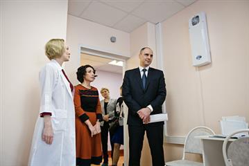 """Денис Паслер: """"Участие в национальных проектах позволяет Оренбуржью серьезно повысить качество и доступность здравоохранения"""""""