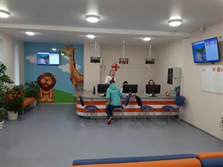 Завершен ремонт детской поликлиники городской клинической больницы №40 в Нижнем Новгороде