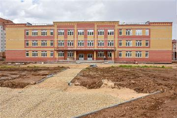 """В рамках нацпроекта """"Образование"""" в Йошкар-Оле завершается строительство школы на 825 мест"""