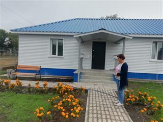 В селе Абдреево Новомалыклинского района готовится к открытию обновленный фельдшерско-акушерский пункт