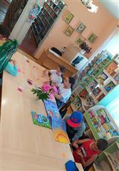 Творческие занятия для детей в библиотеке Караидельского района