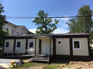 В Земетчинском районе новая амбулатория установлена с опережением на месяц Пензенская область