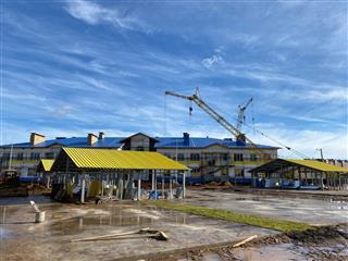 Илшат Тажитдинов осмотрел ход строительства социально значимых объектов в городе Нефтекамске