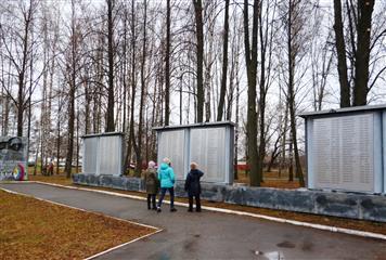 Парк Победы благоустроили в городском округе Сокольское по инициативе жителей