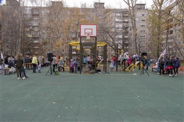 В Нижнем Новгороде по нацпроекту открыта воркаут площадка