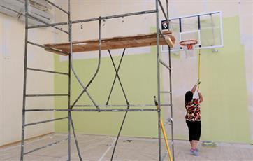 До конца 2020 года во всех сельских школах Чувашии отремонтируют спортзалы
