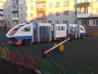 В этом году в Сызрани благоустроено 7 дворовых территорий