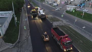 По национальному проекту в Казани завершается ремонт участка улицы Гвардейская
