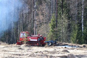 Пермский край закупит бульдозеры для обеспечения пожарной безопасности