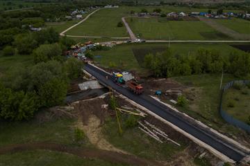 Реконструкцию двух мостов в Богатовском районе Самарской области завершат в июле