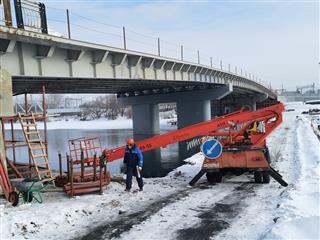 В Пензе завершено порядка 80 % работ на Бакунинском мосту