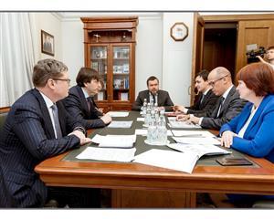 Александр Бречалов и Сергей Кравцов обсудили основные показатели в системе образования и реализацию нацпроектов в Удмуртии