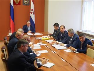 Владимир Волков принял участие в заседании президиума Совета при Президенте РФ по стратегическому развитию и национальным проектам