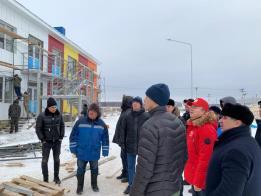 Андрей Назаров проинспектировал ход строительства детских садов