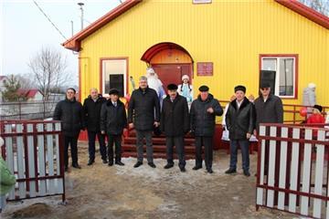 Модульный ФАП стал новогодним подарком для жителей д. Торханы Шумерлинского района