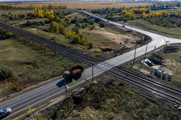 По нацпроекту ввели в эксплуатацию 11 километров трассы Самара – Волгоград – Звезда
