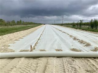 В Саратовской области продолжается строительство автомобильной дороги Озинки – Перелюб
