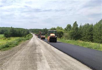 В Саратовской области завершен ремонт шести дорог регионального значения