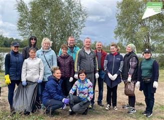 В Димитровграде прошло три субботника на берегах рек