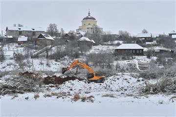 В Удмуртии началась расчистка русла реки Ува