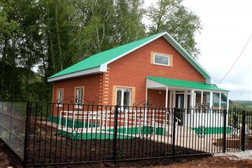 В двух селах Башкортостана завершено строительство фельдшерско-акушерских пунктов