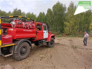"""Бороться с лесными пожарами помогает нацпроект """"Экология"""""""