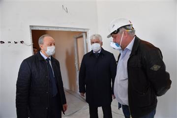 В этом году в п. Дубки Саратовского района будет сдан новый корпус школы