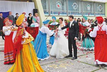 Составлен рейтинг регионов России, где зарегистрировано больше всего браков