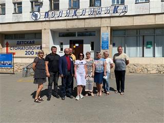 В Оренбургской поликлинике №4 городской больницы им. Н.И. Пирогова начался капитальный ремонт