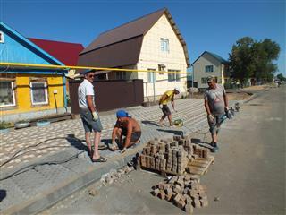 В курортном Соль-Илецке в июле завершится обновление улицы Пушкина