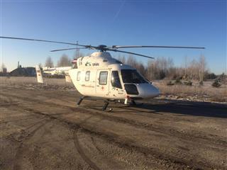 10-летняя девочка эвакуирована вертолетом санавиации из п.Воскресенское в Нижний Новгород