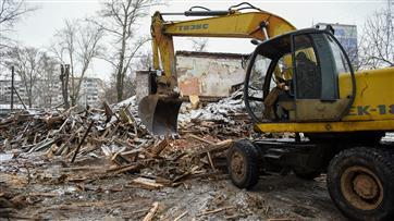 В городе Кирове в 2020 году снесли 35 аварийных домов