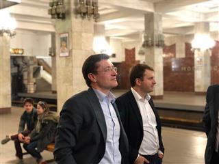 Глеб Никитин и Максим Орешкин обсудили развитие транспортной инфраструктуры Нижнего Новгорода