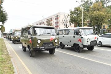 В медучреждения Прикамья переданы 36 новых автомобилей для оказания помощи пациентам отдаленных территорий