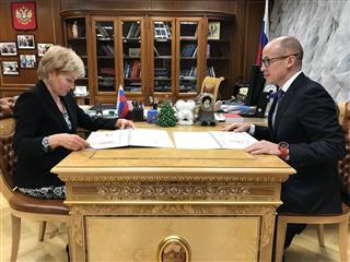 Александр Бречалов и Ольга Голодец обсудили достижения в сфере культуры, туризма и спорта в Удмуртии