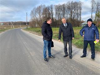 В Богородском районе Нижегородской области по нацпроекту проведен ремонт дороги