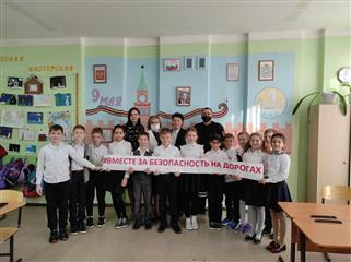 Школьники Нефтегорского района Самарской области закрепили свои знания по основам безопасного поведения на дорогах