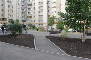В Новокуйбышевске закончено благоустройство дворов в рамках нацпроекта