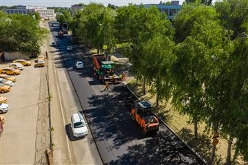 Ремонт улицы Победы в Тольятти планируют закончить к началу июля