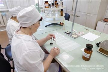 Во всех муниципалитетах Ульяновской области к 2020 г. будут созданы аптечные госорганизации
