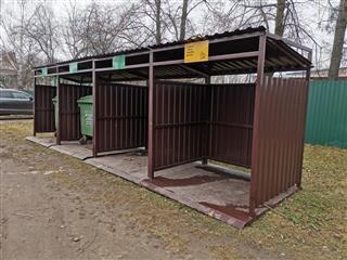 12 новых контейнерных площадок установили в Большемурашкинском районе