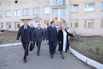 Глеб Никитин поручил провести тотальную проверку Вознесенской ЦРБ