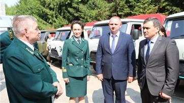 """Лесничества Чувашии получили новую технику в рамках нацпроекта """"Экология"""""""