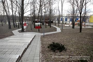 В Ульяновске в 2020 году благоустроят 55 дворов и восемь парков и скверов