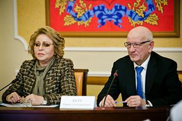 """Валентина Матвиенко: """"В Оренбуржье сформирована достаточная база для реализации национальных проектов"""""""