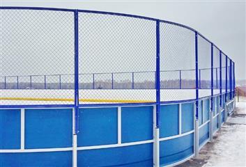 В Теньгушевском районе Мордовии открыта новая хоккейная площадка