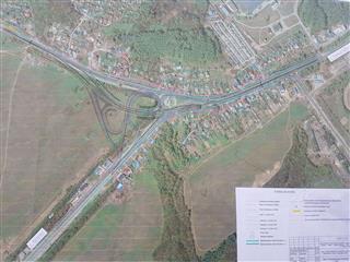 Специалисты нижегородского ГУАД ответили на вопросы жителей Ольгино, связанные с предстоящим строительством транспортной развязки