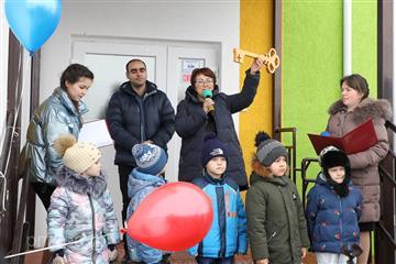 В Неверкино открыт новый детский сад